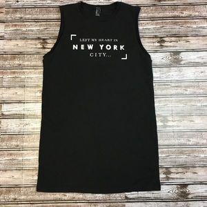 Forever 21 New York City Sleeveless Sweater Dress